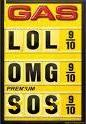 joke images of gas prices sign
