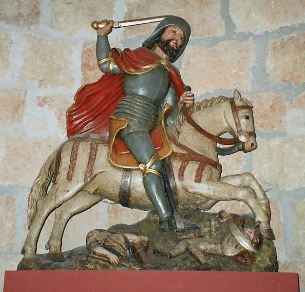 saint james muslim Saint james the moor-slayer is the name given to the representation of the apostle saint james the elder as a legendary, miraculous appearance at the battle.